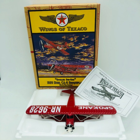 Wings of Texaco - Avion SPOKANE Sun-God 1929 Buhl Red