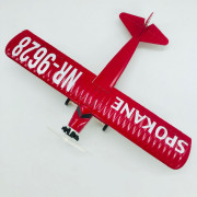 Wings of Texaco - Avion SPOKANE Sun-God 1929 Buhl Red