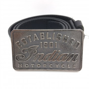 Boucle ceinture Indian established 1901