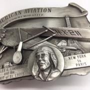 Boucle ceinture C.Lindberg 1986 commemorative