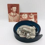 Boucle ceinture C.Lindbergh 1986 commemorative