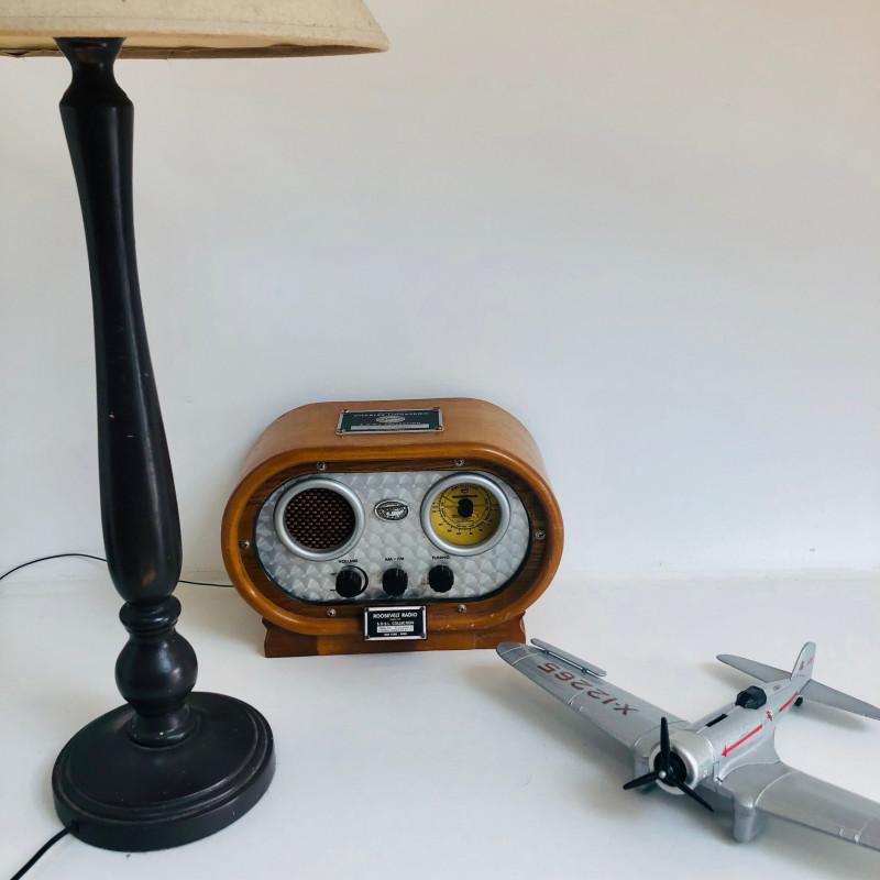 Radio vintage ovale Spirit Of Saint Louis