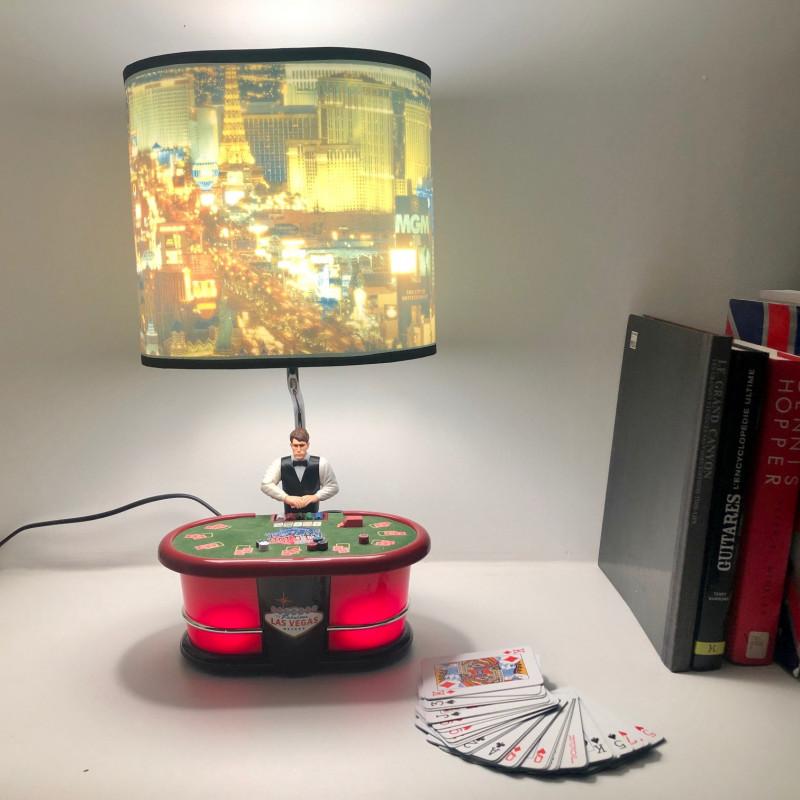 King America Lampe Poker automate