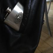 Flasque deco skull