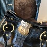 Historic Patrol Route 66 : Insigne effet laiton