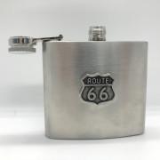 Flasque Route 66 métal