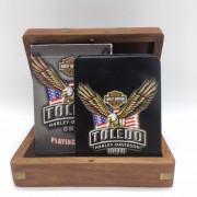 Jeu de cartes Harley Davidson Collector TOLEDO- OHIO