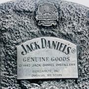 BOUCLE CEINTURE JACK DANIEL'S RED DOG SALOON 1992