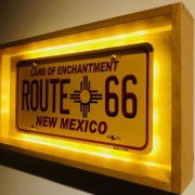 ROUTE 66 - LAMPE D'AMBIANCE