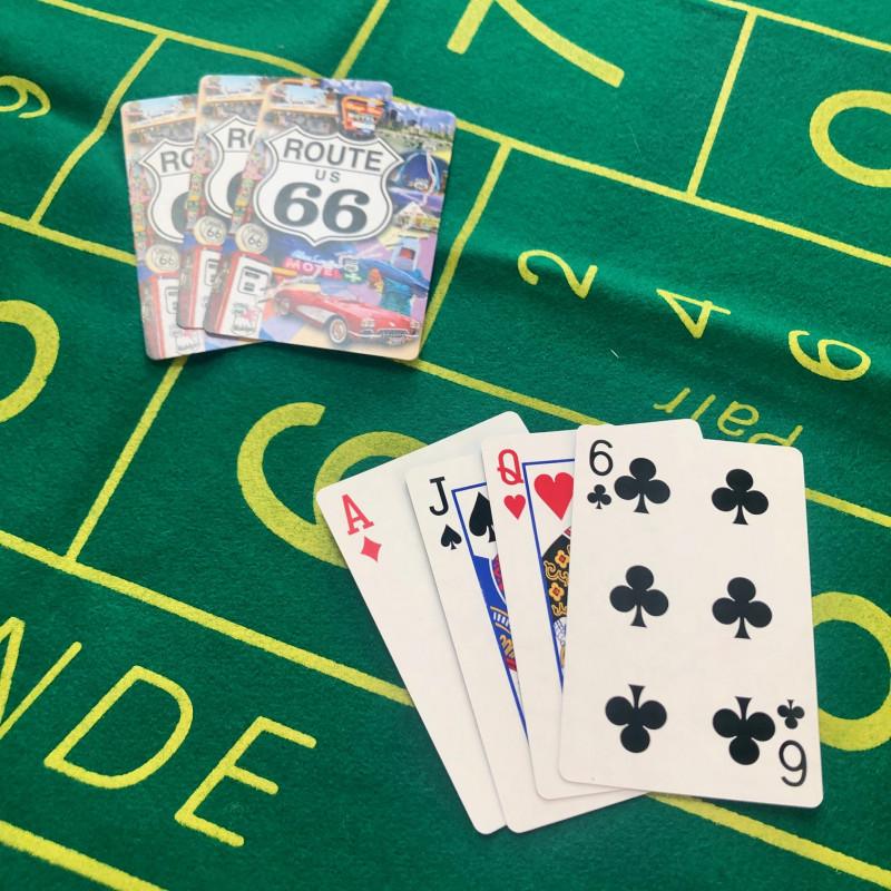 CARTES A JOUER - ROUTE 66
