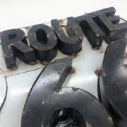 PLAQUE ROUTE 66 - Vintage