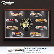 COFFRET COUTEAUX INDIAN - COLLECTOR
