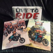 LOT ROUTE 66 STORE : Bande Dessinée Miss Harley