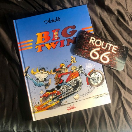 LOT ROUTE 66 STORE : Bande Dessinée Big Twin