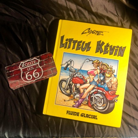 LOT ROUTE 66 STORE : Bande Dessinée Little Kevin 1997