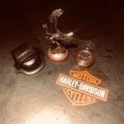 Franklin Mint - Montre Gousset - Harley Davidson - Electra Glide