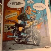 LOT ROUTE 66 STORE : Bande Dessinée Ca Fume à la Chicane !