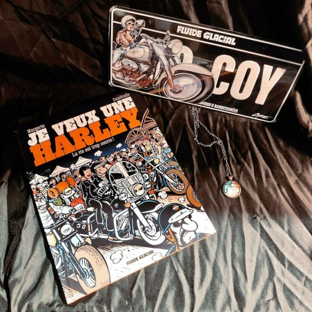 LOT ROUTE 66 STORE : Bande Dessinée Je Veux Une Harley