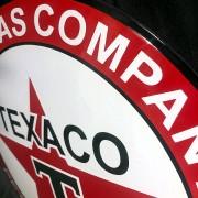 TEXACO - PLAQUE EMAILLEE