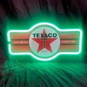 TEXACO - LAMPE LED NEON
