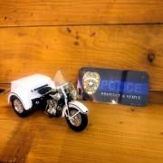TRIKE SERVICAR BLANC POLICE - HARLEY DAVIDSON