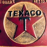 TEXACO - PLAQUE RECTANGULAIRE