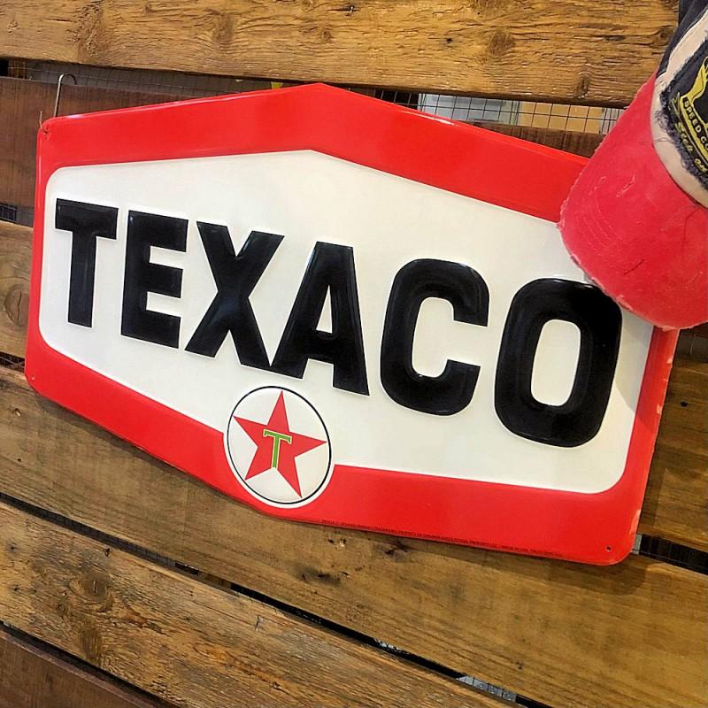 TEXACO - PLAQUE LOSANGE