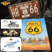 BANDE DESSINEE ROUTE 66 - Pack Collector