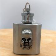 Flasque Skull - Porte clés