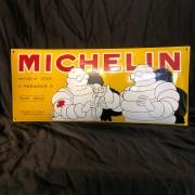 MICHELIN - Enseigne émaillée