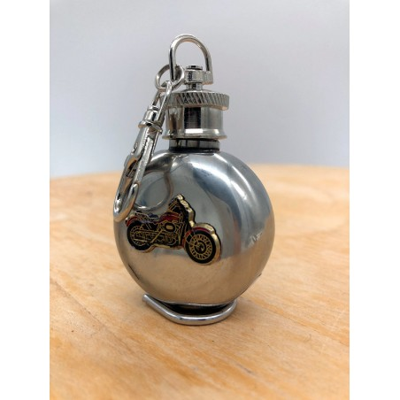 Gourde Moto- Flasque acier inoxydable