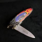 EASY RIDER - HARLEY DAVIDSON - FRANKLIN MINT - COUTEAU BILLY BIKE
