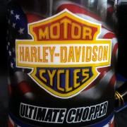 EASY RIDER - HARLEY DAVIDSON - FRANKLIN MINT - Captain America chopper mug