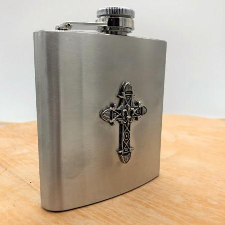 Flasque Croix Fleur de Lys