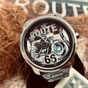 MONTRE ROUTE 66 BRACELET METAL