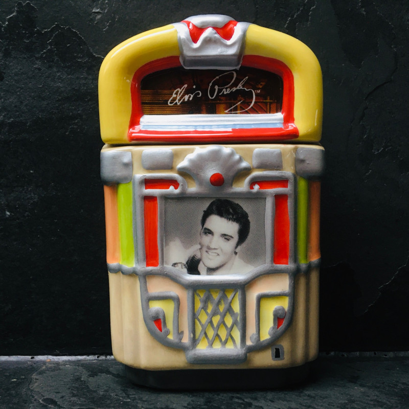 SALIERE POIVRIERE JUKEBOX ELVIS PRESLEY