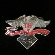 Johnny Hallyday - Pins Original Vintage Laurada Tour