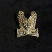 Johnny Hallyday - Pins Original en etain