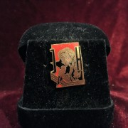 Johnny Hallyday - Pins original défraichi