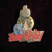 Johnny Hallyday - Pins original couleur