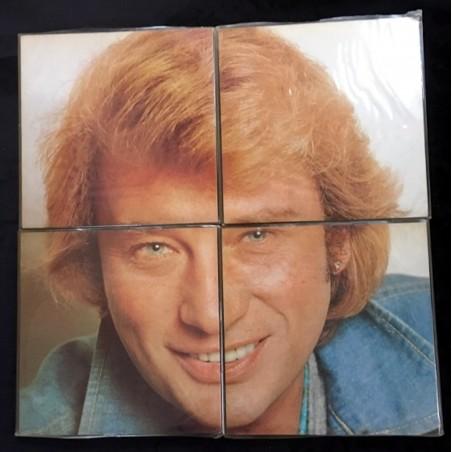 Johnny Hallyday - 1 - 2 - 3 - 4 - Disque Vinyl Edition Originale