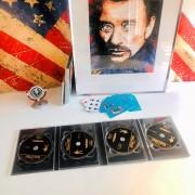JOHNNY HALLYDAY - PACK COLLECTOR DVD - Les 4 Films de JH