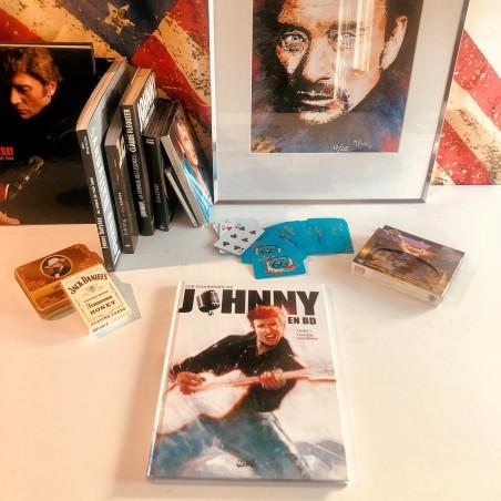 JOHNNY HALLYDAY - Bande Dessinée Volume 1 - Cordes Sensibles