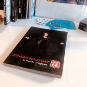 JOHNNY HALLYDAY - Livre Route 66 Tour