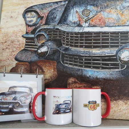 "MUG ""Cadillac"" - Artiste peintre © Michel Perrier"