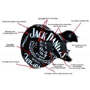 GUITARE KCUSTOM SHOP JACK DANIEL'S