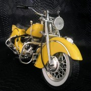 INDIAN CHIEF 348 METAL JAUNE