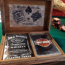 Jeu de cartes DUO - Harley Davidson - JACK DANIEL'S
