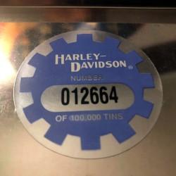 COFFRET METAL COLLECTOR CARTES A JOUER - HARLEY DAVIDSON