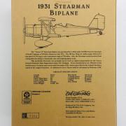 Avion Wings of Texaco - 1931 Stearman